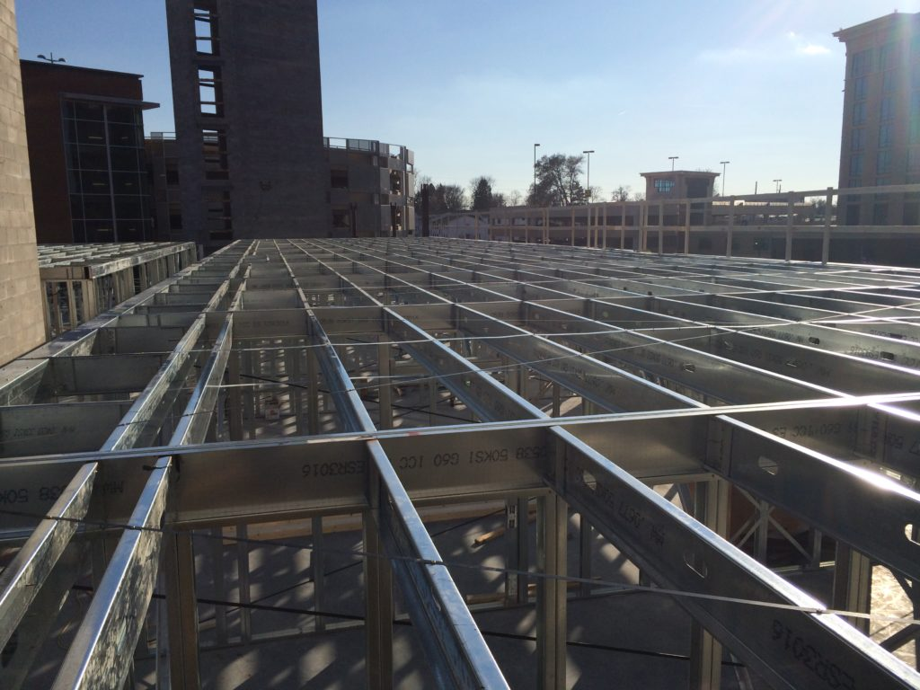 Hyatt Prefab deck system
